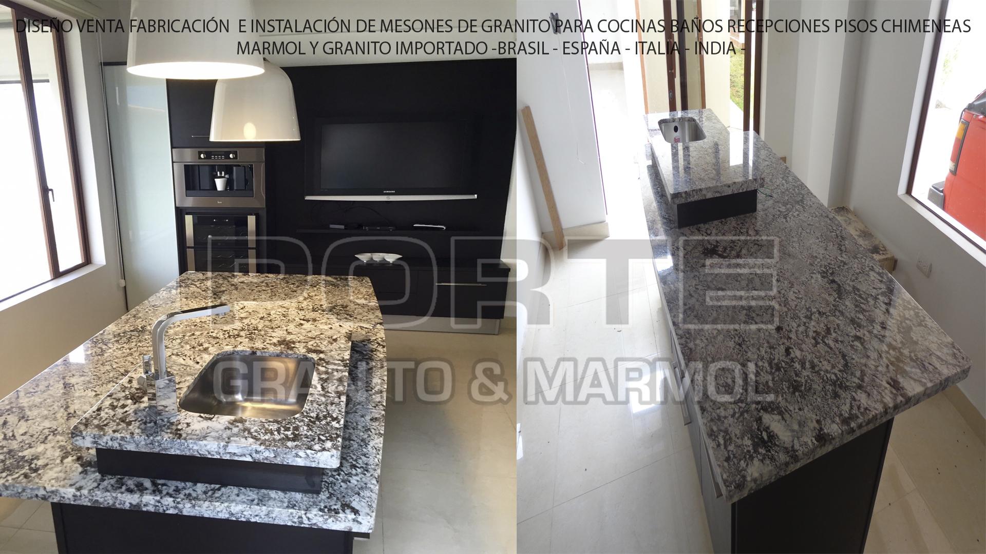 Fabricacion de mesones de marmol y granito - Marmol y granito ...